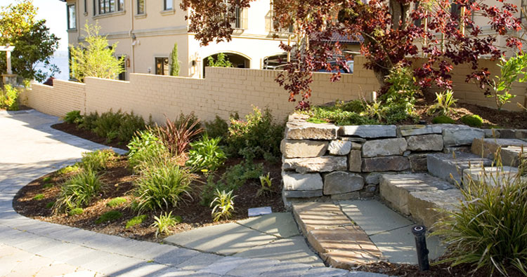 enry gate steps design and construction by Urban Oasis LLC