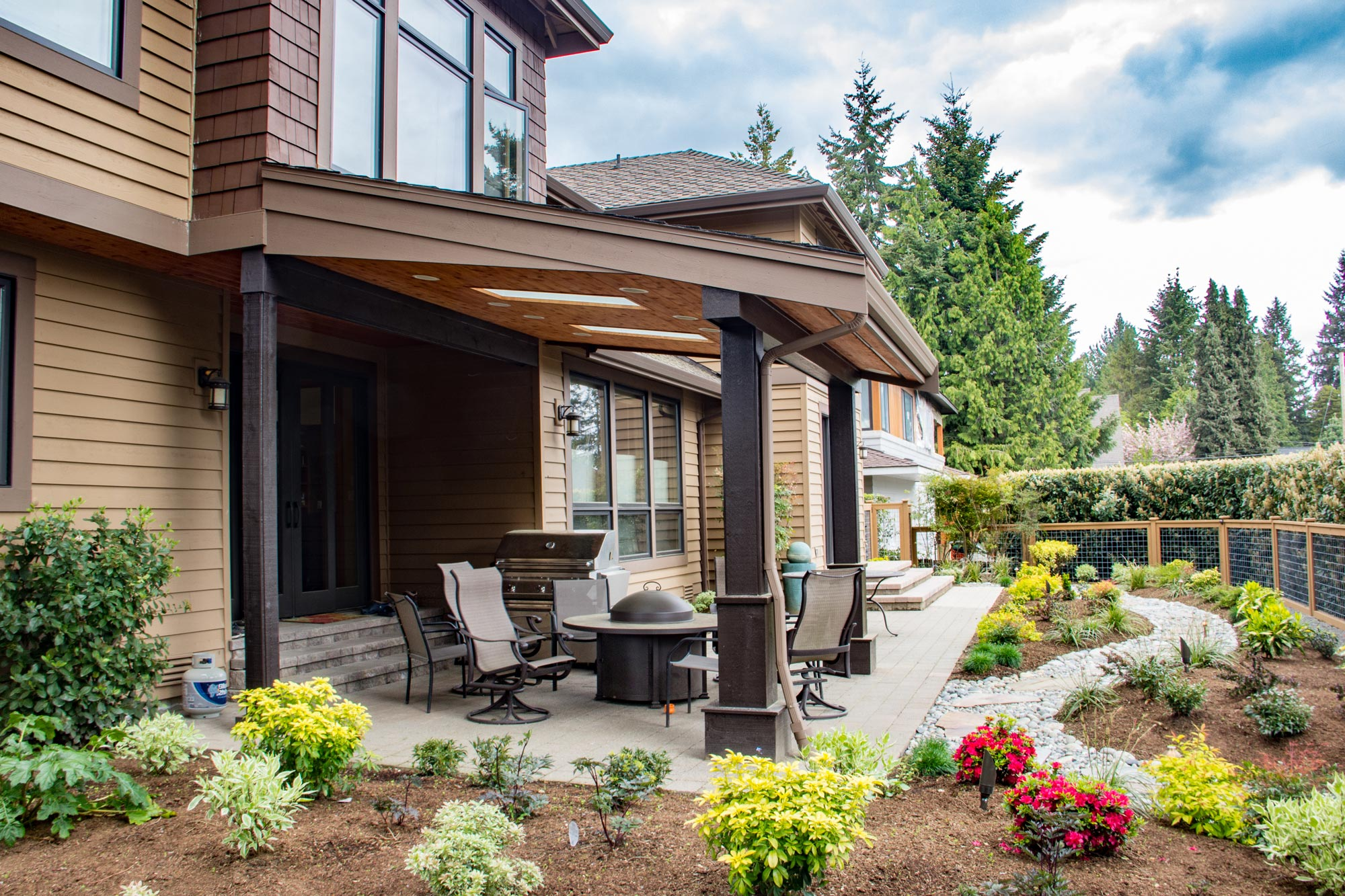clyde hill outdoor rooms urban oasis design u0026 construction llc