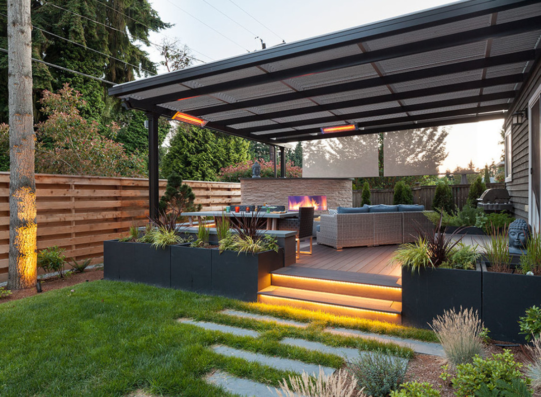 Kirkland Modern Backyard