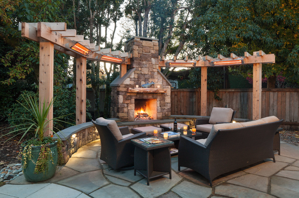 Cozy, Rustic Patio